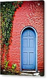 Garden House Acrylic Print