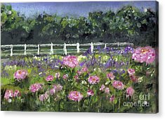 Garden In Vernfield Acrylic Print