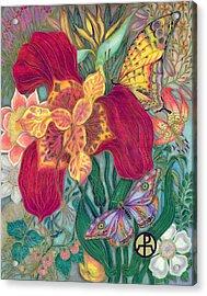 Garden Of Eden - Flower Acrylic Print
