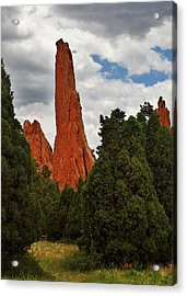 Garden Of The Gods - A Breathtaking Natural Wonder Acrylic Print by Christine Till