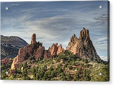 Garden Of The Gods 1 Acrylic Print by Jim Pearson