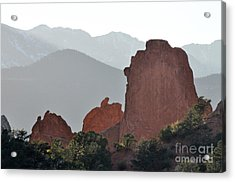 Acrylic Print featuring the photograph Garden Of The Gods by Cheryl McClure