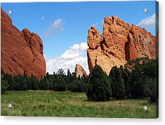 Acrylic Print featuring the photograph Garden Of The Gods by David Pantuso