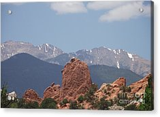 Garden Of The Gods Acrylic Print