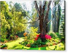 Garden Sunlight 2 Acrylic Print