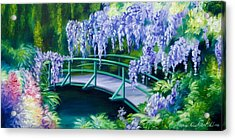 Gardens Of Givernia II Acrylic Print by James Christopher Hill