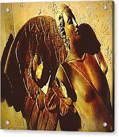 Gardian Angel Acrylic Print by Yvon van der Wijk
