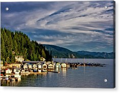 Acrylic Print featuring the photograph Garfield Bay by Albert Seger