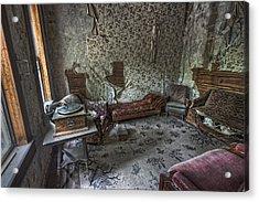 Garnet Ghost Town Hotel Parlor - Montana Acrylic Print