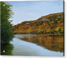 Gasconade Autumn Acrylic Print