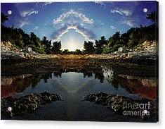 Gate To Paradise Acrylic Print by Bruno Santoro