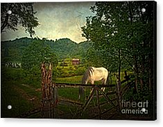 Gate To The Past Acrylic Print