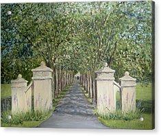 Gateway To Fonthill Acrylic Print