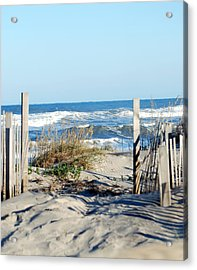 Gateway To The Sea Acrylic Print by Linda Cox