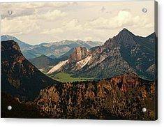 Gateway To Yellowstone National Park Acrylic Print by Flash Parker
