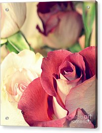 Acrylic Print featuring the photograph Gather Beauty by Robin Dickinson