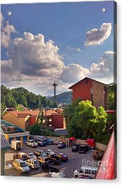 Gatlinburg Tn Acrylic Print by Janice Spivey