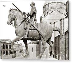 Gattamelata (1370-1443) Acrylic Print by Granger