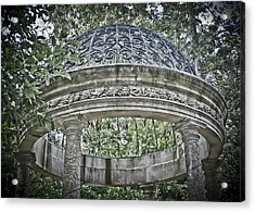 Gazebo At Longwood Gardens Acrylic Print