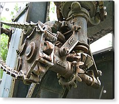 Gears And Sprockets Acrylic Print