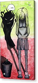 Gee Thanks Acrylic Print by Kate Boone