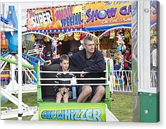 Gee Whizzer Acrylic Print by Lee Stickels