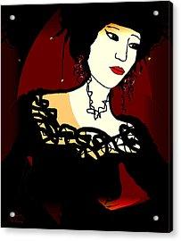 Geisha 1 Acrylic Print by Natalie Holland