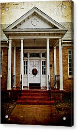 Genealogical Library  Acrylic Print by Toni Hopper