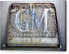 General Motors Acrylic Print by Luc Novovitch