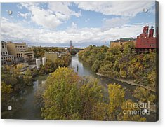 Acrylic Print featuring the photograph Genesee River by William Norton
