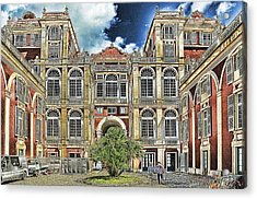 Genova Palazzo Reale - Royal Palace Of Palazzo Dei Rolli Acrylic Print