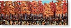 Gentle Autumn Breeze Acrylic Print by Tammy Watt