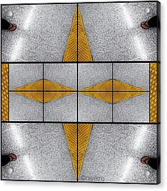 Geometric Metro Acrylic Print