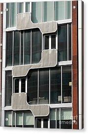 Geometric Windows Acrylic Print