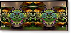 Acrylic Print featuring the photograph Geometrica by Robert Kernodle