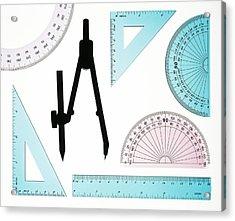 Geometry Set Acrylic Print by Lawrence Lawry