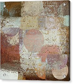 Geomix - 16c3dt2d2 Acrylic Print by Variance Collections
