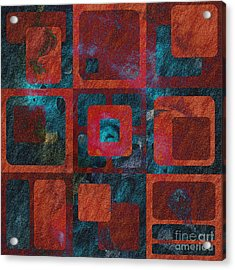Geomix 02 - Sp07c03b Acrylic Print by Variance Collections