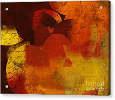 Geomix 05 - 02at02b Acrylic Print by Variance Collections