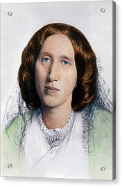 George Eliot 1819-1880 Was Born Mary Acrylic Print by Everett