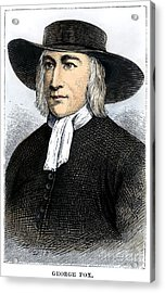George Fox (1624-1691) Acrylic Print by Granger