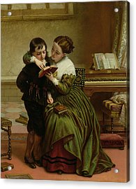 George Herbert And His Mother Acrylic Print