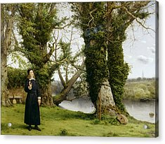 George Herbert At Bemerton Acrylic Print by William Dyce