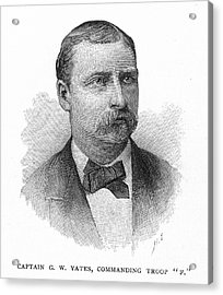George W. Yates (d.1876) Acrylic Print by Granger