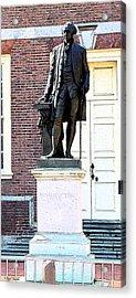 George Washington Acrylic Print by Rick Thiemke
