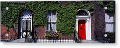Georgian Doors, Fitzwilliam Square Acrylic Print by The Irish Image Collection