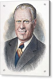 Gerald Ford (1913-2006) Acrylic Print by Granger