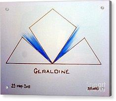 Geraldine Acrylic Print