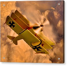 German Airplane Acrylic Print by Gennadiy Golovskoy