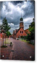 German Town Acrylic Print by Edward Myers